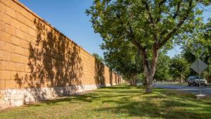 fraccionamiento Las villas pared