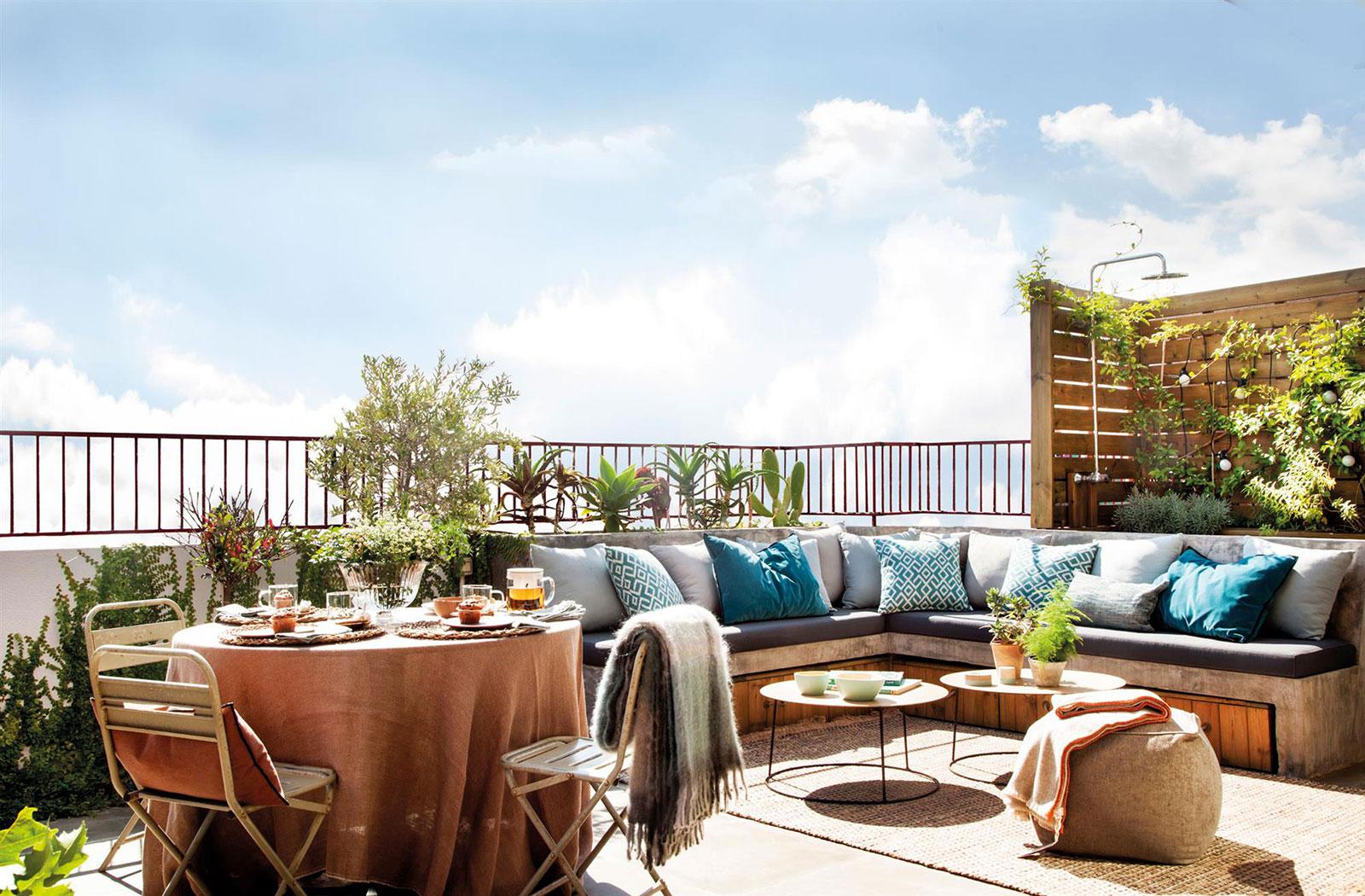 terraza agradable