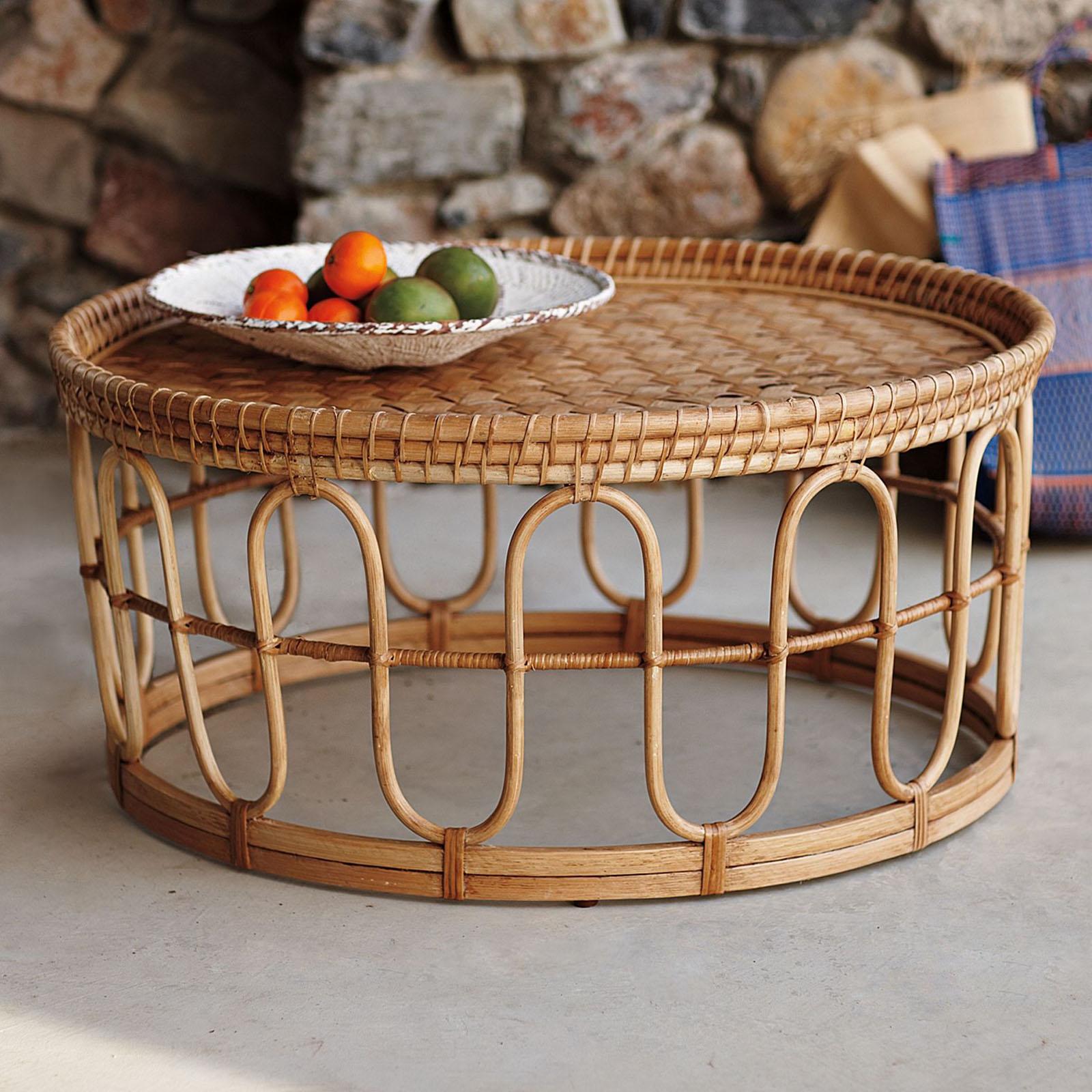 muebles hechos de bambu