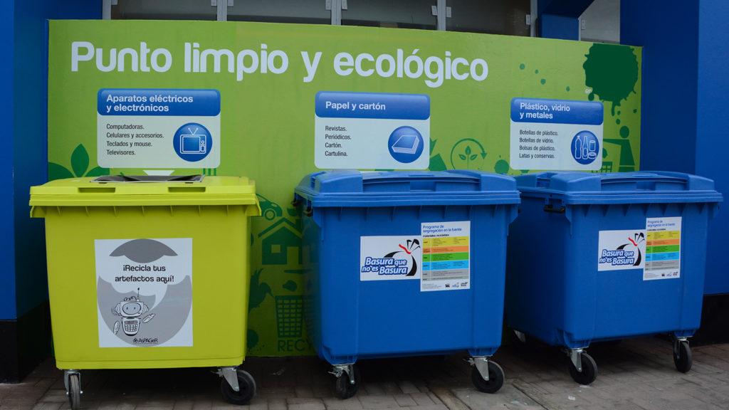 punto limpio y ecológico