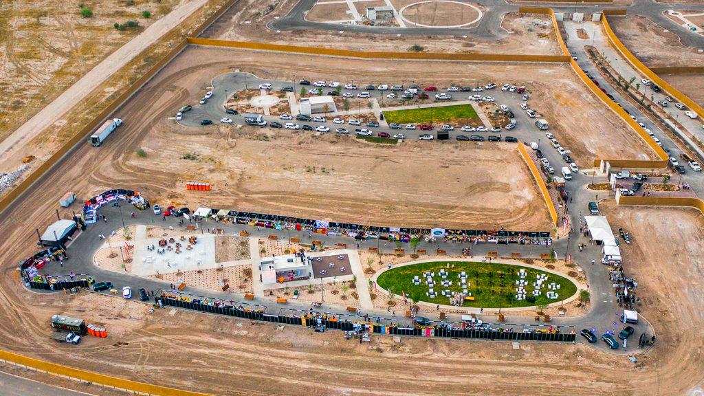 foto aérea de El Cardenchal